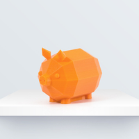 Small Low Poly Piglet 3D Printing 188094