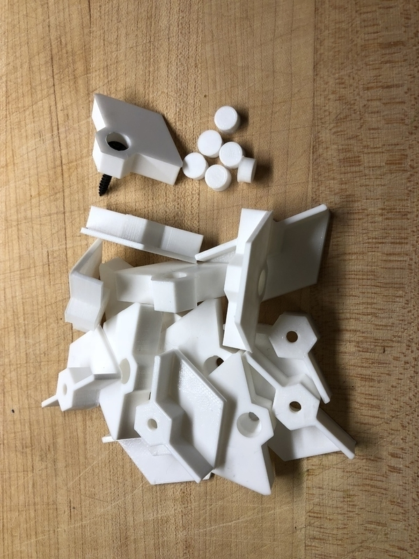 Medium Nanoleaf Mounts 3D Printing 188095
