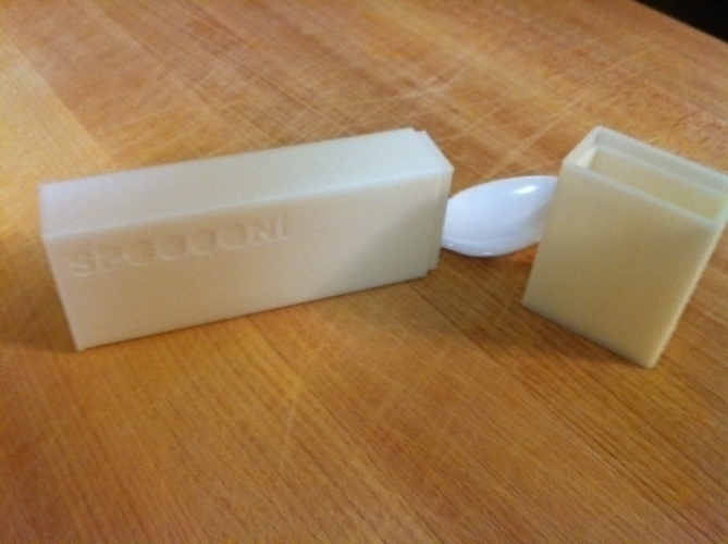 Spoon box 3D Print 188105