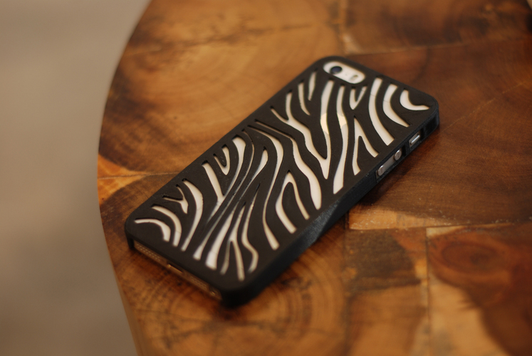 Zebra Iphone 5 Case 3D Print 18815