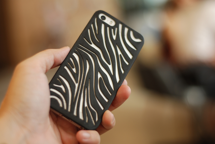 Zebra Iphone 5 Case 3D Print 18817