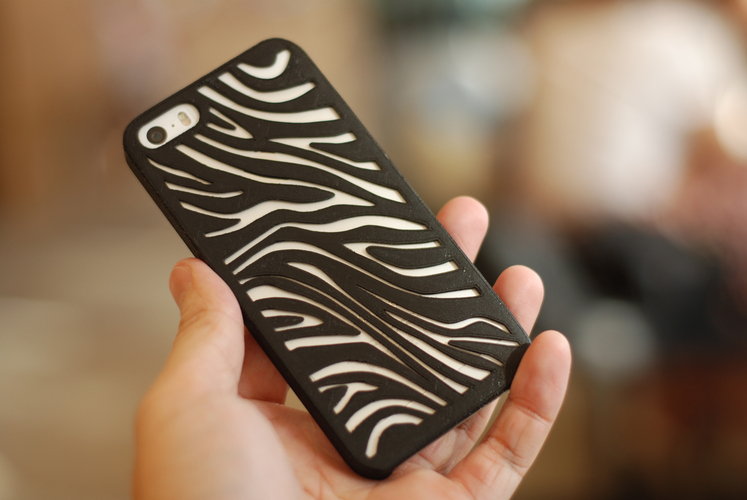 Zebra Iphone 5 Case 3D Print 18818