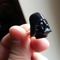 Small Lord Darth Vader Star Wars shirt cufflink 3D Printing 188181