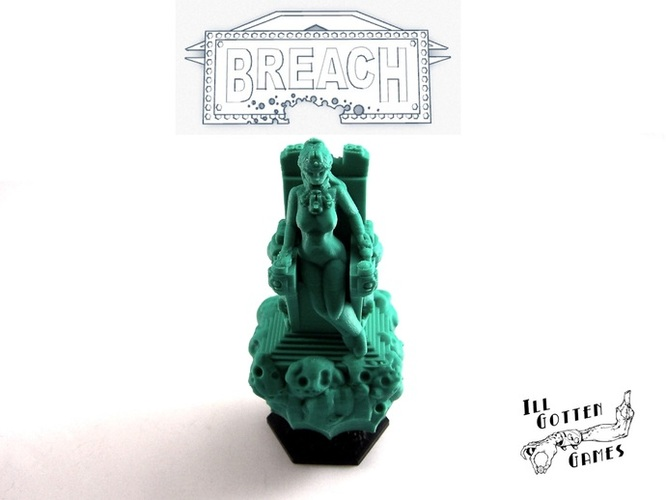 Breach The Star Goddess 3D Print 1882