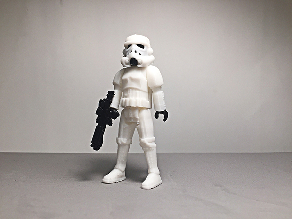 Medium Imperial Stormtrooper 3D Printing 188229