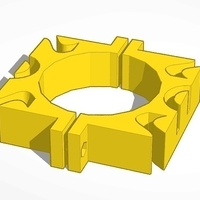 Small cable clamp 3D Printing 188246
