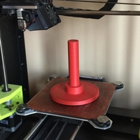 Small pole spool holder 3D Printing 188382