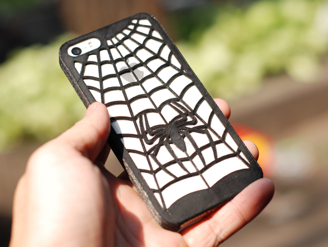Iphone 5 Case - Spidersuit 3D Print 18840