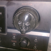 Small Replacment Stereo Skull Knob Volume 2in 3D Printing 188400