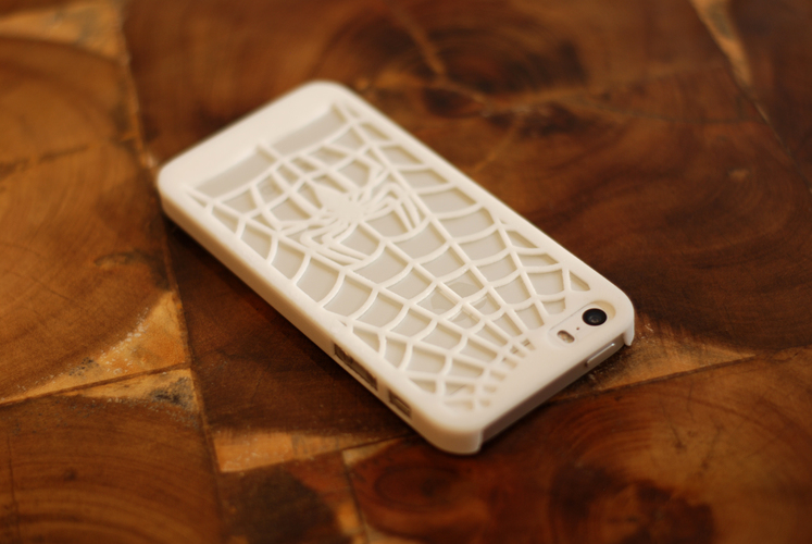 Iphone 5 Case - Spidersuit 3D Print 18841