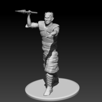 Small Night King Pole Pose 3D Printing 188423