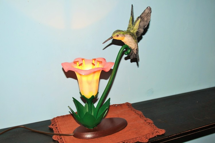 Hummingbird Lamp 3D Print 18848
