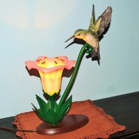 Small Hummingbird Lamp 3D Printing 18848