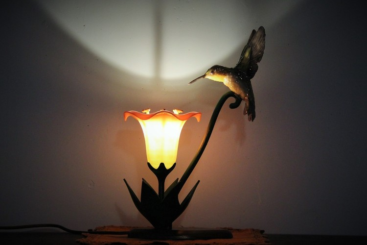 Hummingbird Lamp 3D Print 18849