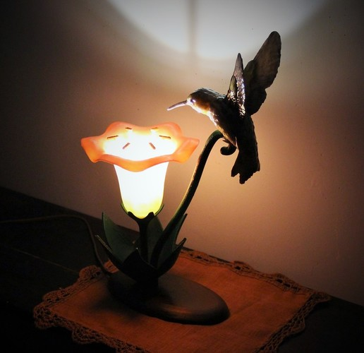 Hummingbird Lamp 3D Print 18851