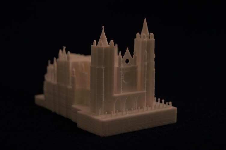 Leon Cathedral 3D Print 188556