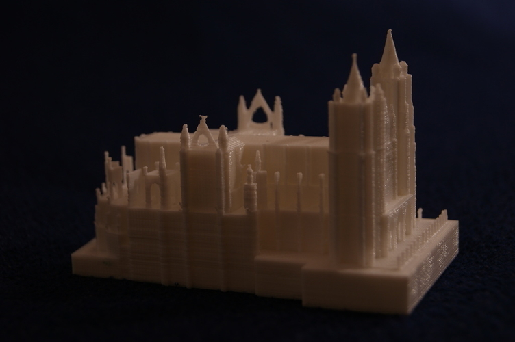 Leon Cathedral 3D Print 188558