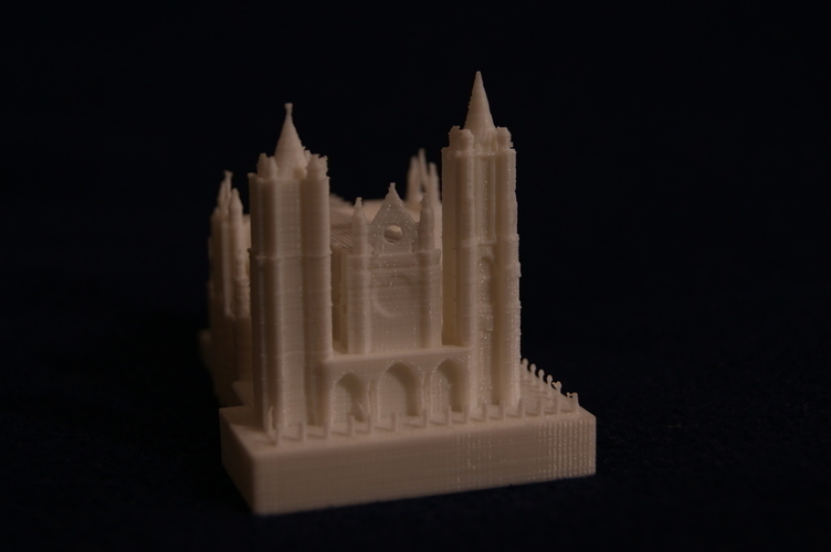 Leon Cathedral 3D Print 188560
