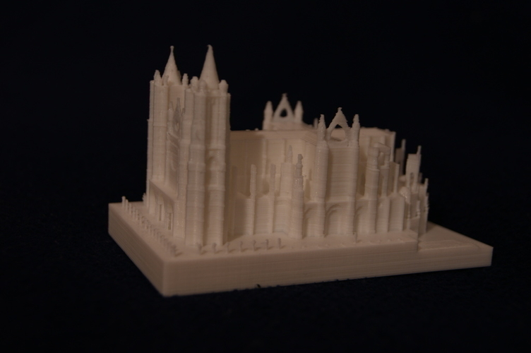 Leon Cathedral 3D Print 188561