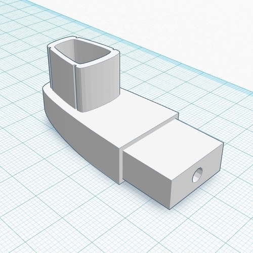 Alumax Shower Arm Bracket 3D Print 188601