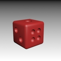 Small Dice 3D Printing 188604