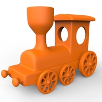 Small Train Toy 3D Printing 18877
