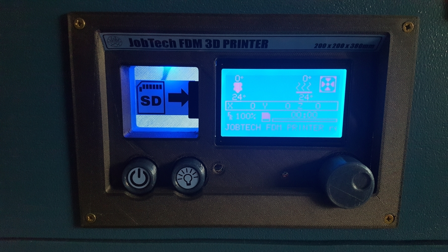 Portable FDM Printer 3D Print 188771