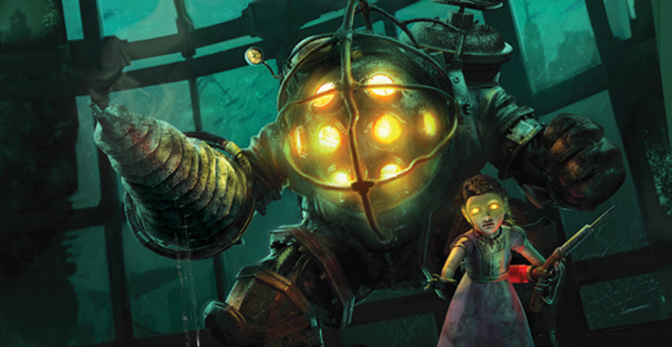3d Printed Bioshock Big Daddy And Little Sister By Xeriel