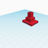 Small Philips screwdriver stand(Pyramid)(Version 2) 3D Printing 188969