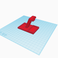 Small Sphinx headphone stand 3D Printing 189084
