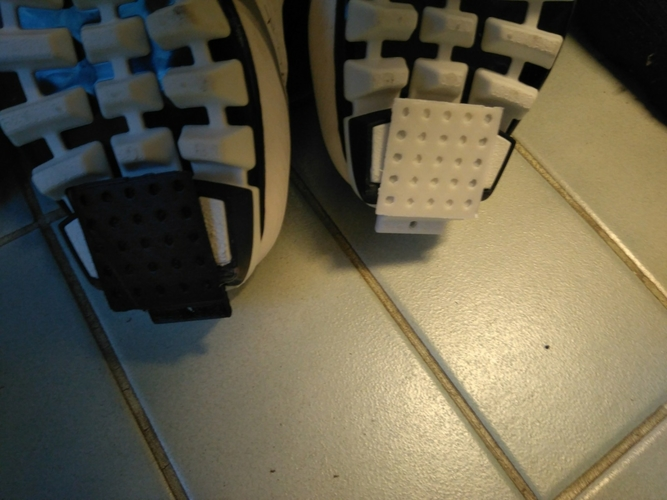 Ski shoe protector with holder for pole 3D Print 189094