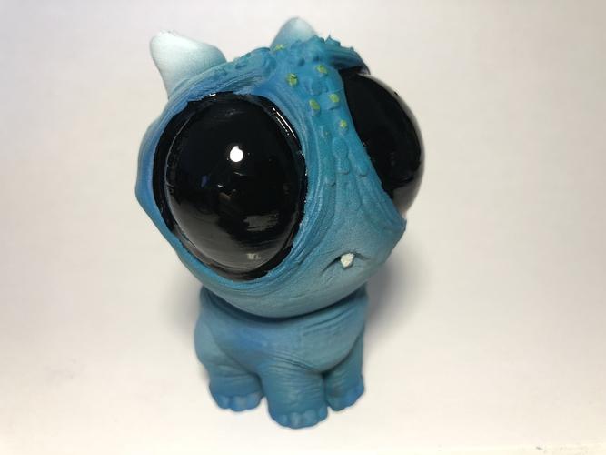 Blue baby Dragon 3D Print 189164