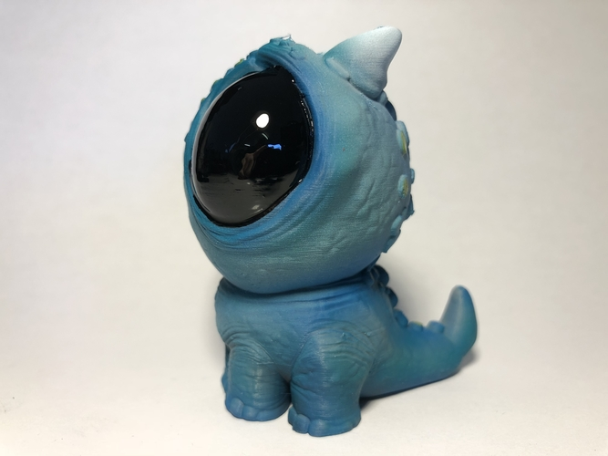 Blue baby Dragon 3D Print 189165