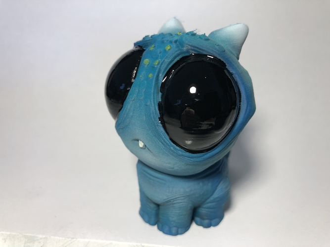 Blue baby Dragon 3D Print 189166