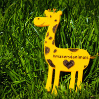 Small #makers4animals - Giraffe 3D Printing 18927