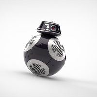 Small BB9E DROID - STAR WARS: THE LAST JEDI 3D Printing 189274