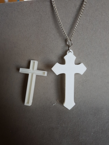 cross box pendant (remix) 3D Print 189291