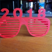 Small glasses 2018 3D Printing 189323