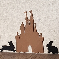 Small castle 3D Printing 189329