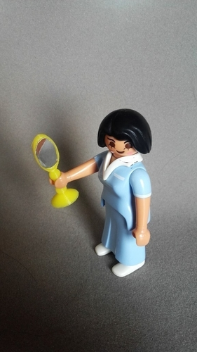 Mirror for playmobil child and adult 3D Print 189379