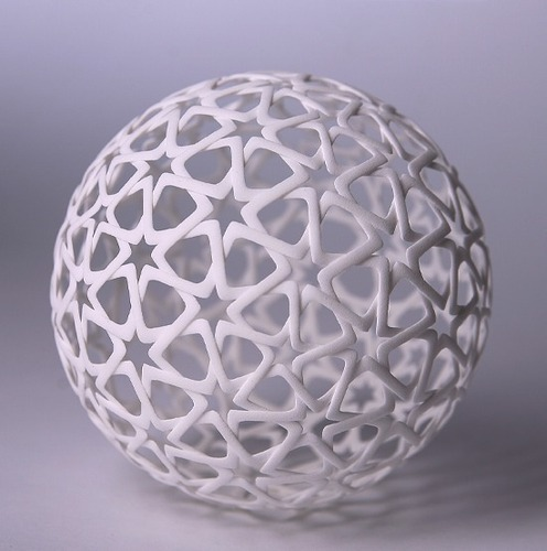 Islamic Christmas Ball (1) 3D Print 18938
