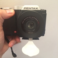 Small Pentax K-01 SMC DA-40mm lens cover 3D Printing 18940