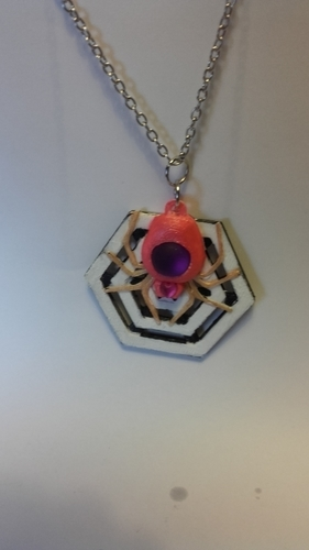 Spider set and pendant remix 3D Print 189413