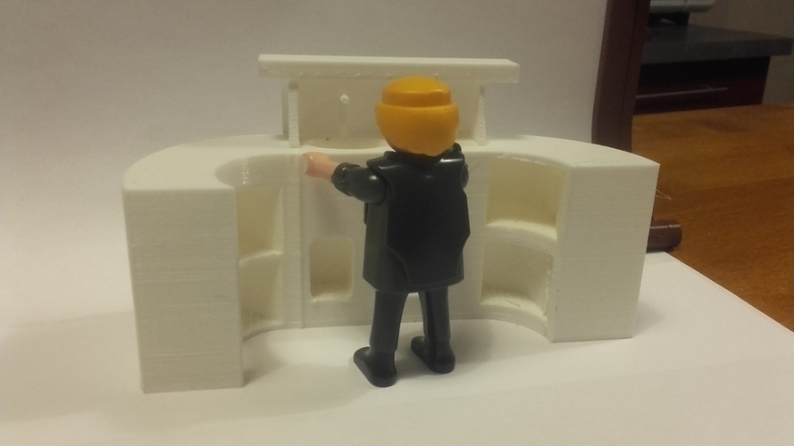 bar for playmobil and saloon 3D Print 189464