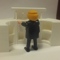 Small bar for playmobil and saloon 3D Printing 189464