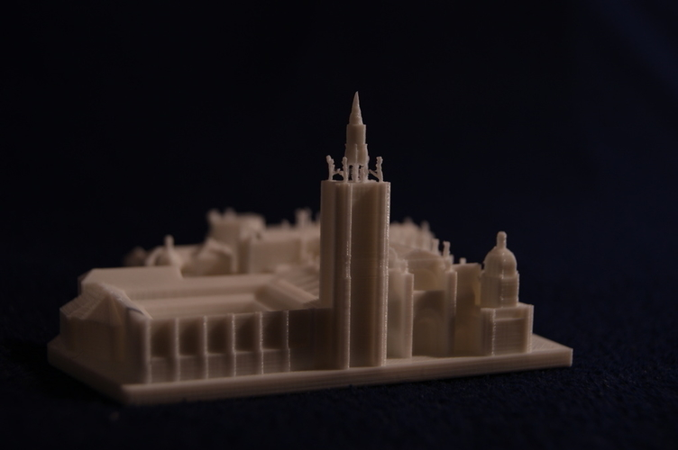 Toledo Cathedral 3D Print 189489