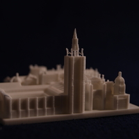 Small Toledo Cathedral 3D Printing 189489