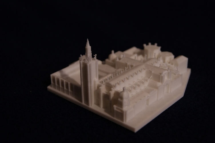 Toledo Cathedral 3D Print 189491