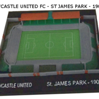 Small Newcastle United - St James Park 1908 3D Printing 189522