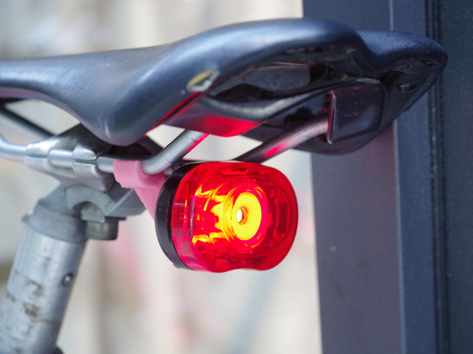 "Saddle mount for ""Smart LED / Planet Bike"" lights 3D Print 18954"